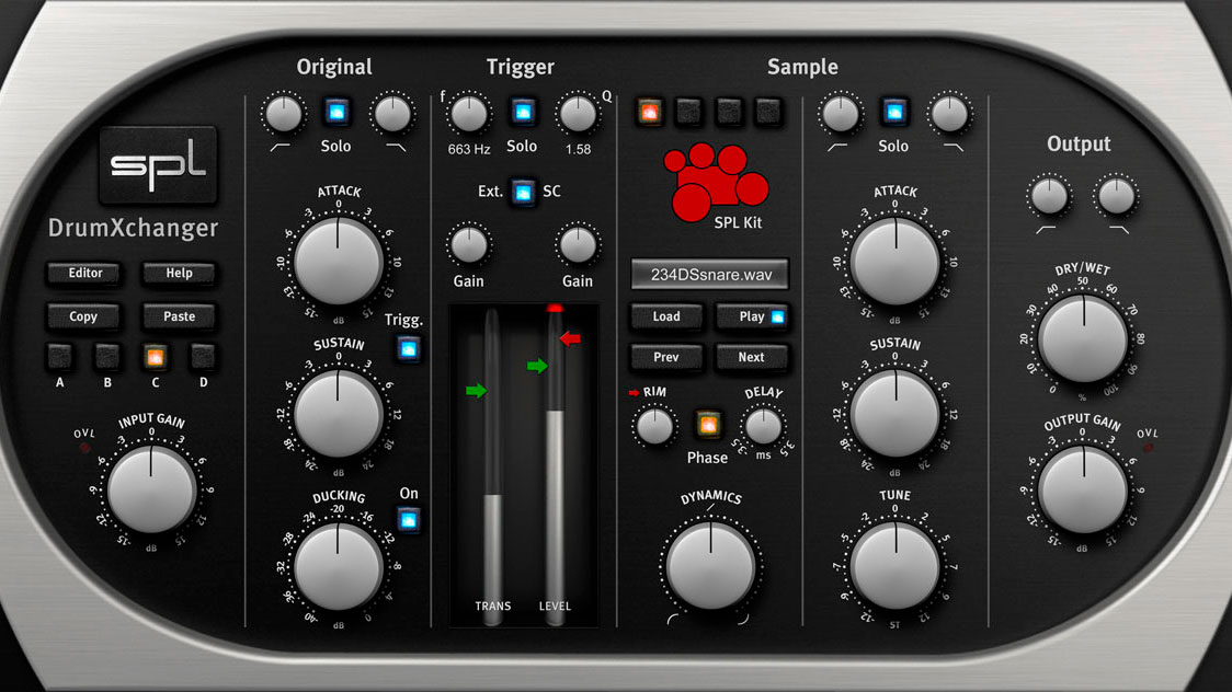DrumXchanger Plugin
