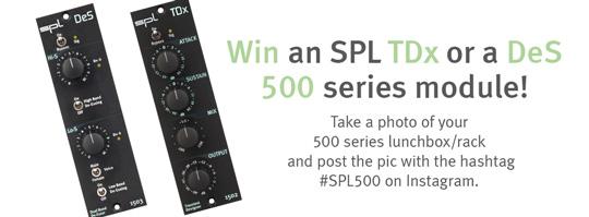 Gewinne ein SPL TDx oder ein SPL DeS 500er Serie Modul!
