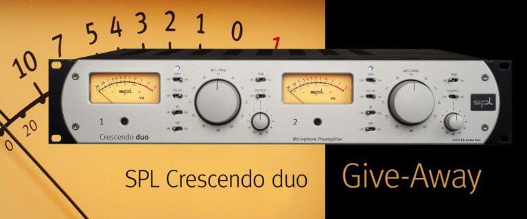 SPL Crescendo duo Give-Away