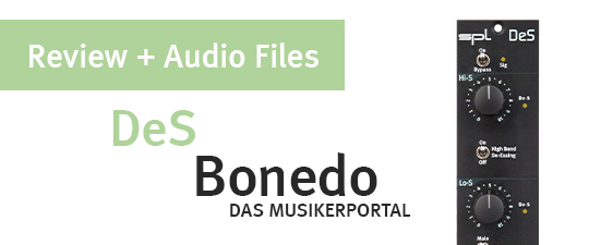 SPL DeS review at Bonedo (featuring sound examples)