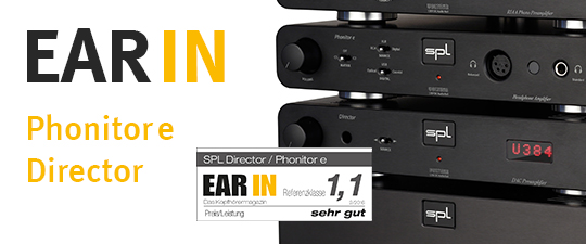 Phonitor e und Director in EAR IN