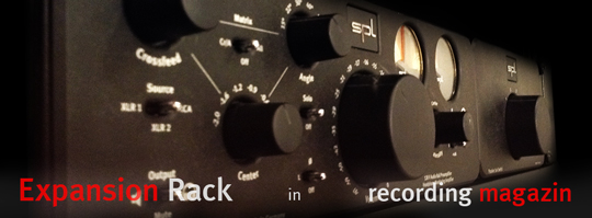 Expansion Rack in Recording Magazin