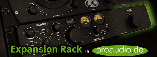 SPL Expansion Rack – Video on proaudio.tv