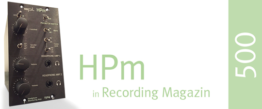 HPm – Recording Magazin