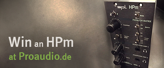 Win an SPL HPm 500 Series module with Phonitor Matrix