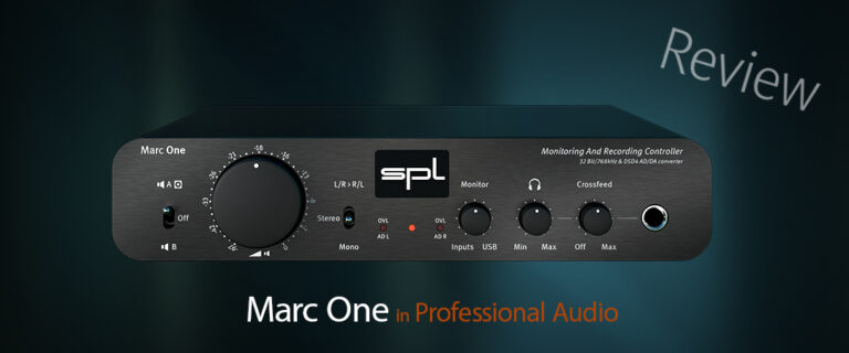 Marc One in Professional Audio