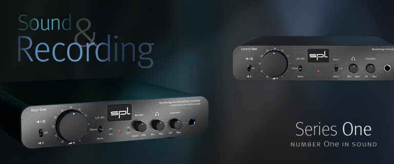 Marc One & Control One in Sound & Recording