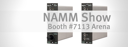 SPL at the NAMM Show 2016