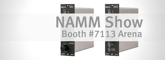 SPL bei der NAMM Show 2016