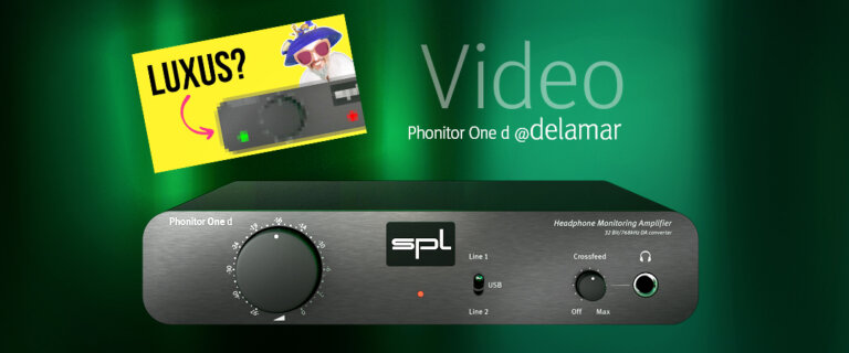 Phonitor One d @ delamar