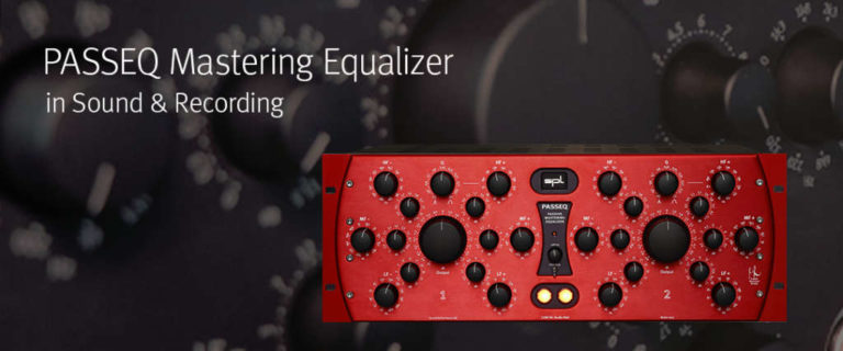 PASSEQ Mastering Equalizer in Sound & Recording