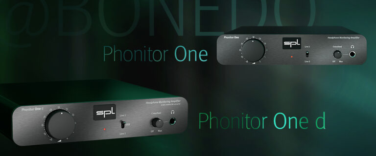Phonitor One & One d @ Bonedo