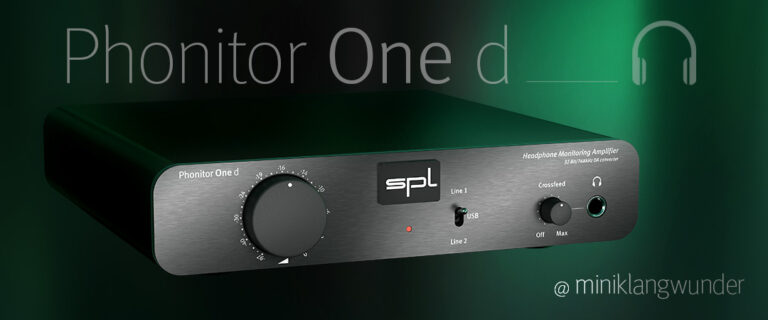 Phonitor One d @ Miniklangwunder