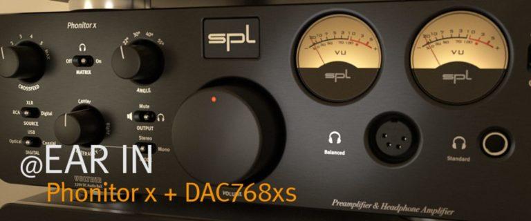 Phonitor x + DAC768xs in EAR IN
