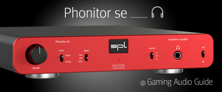 Phonitor se @ Gaming Audio Guide