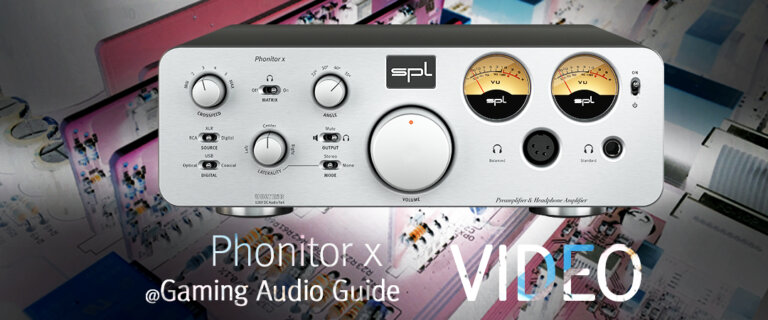 Phonitor x @ Gaming Audio Guide