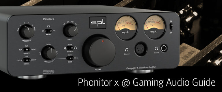 Video Review – Phonitor x @ Gaming Audio Guide