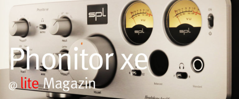 Phonitor xe @ lite-Magazin