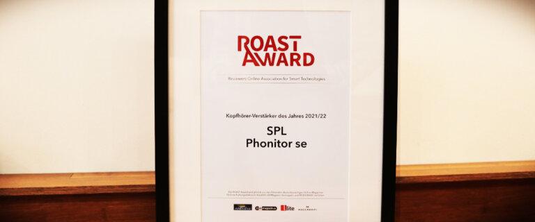 SPL Phonitor se wins ROAST Award