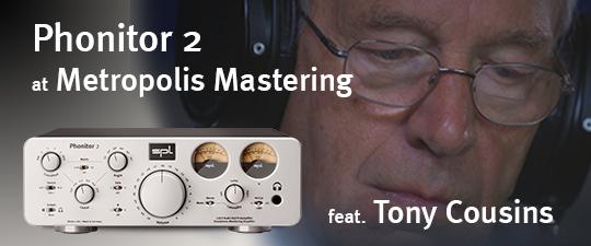Phonitor 2 bei Metropolis Mastering (Video)